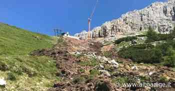Frana al rifugio Coronelle, impiantisti sotto accusa - Bolzano - Alto Adige