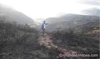 Áncash: incendio forestal afecta zona arqueológica de Turuc Punta en Carhuaz - Diario Digital Chimbote en Línea