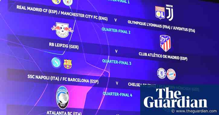 Manchester City to face Juventus or Lyon if they beat Real Madrid