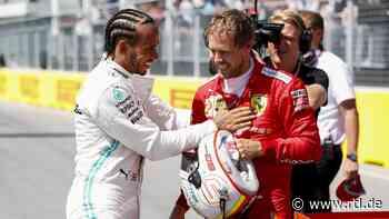"Formel 1 - Lewis Hamilton adelt Sebastian Vettel: ""Respekt vor ihm größer als vor jedem anderen"" - RTL Online"