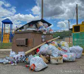 Small City Near San Antonio Looks For Big Recycling Solutions As Frustration Piles Up - Texas Public Radio