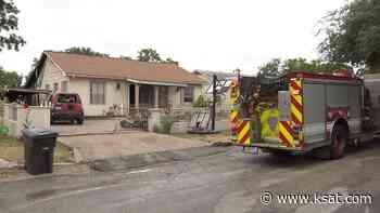 Fire destroys shed near home on Northwest Side of San Antonio - KSAT San Antonio