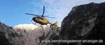 Berchtesgaden/Ramsau: Erschöpfte Britin vom Mannlgrat ausgeflogen – Bergwachteinsätze - Berchtesgadener Anzeiger