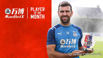 James McArthur scoops first ManBetX Player of the Month this season