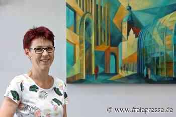 Malerin macht Stadtgeflüster auch sichtbar - Freie Presse