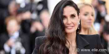Why Demi Moore's Bathroom Is Causing Social Media To Have A Meltdown Today - elle.com