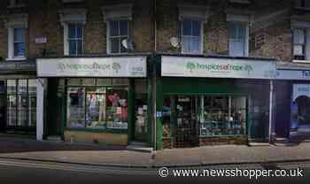 Bexley: arrest over Hospices of Hope charity shop attacks