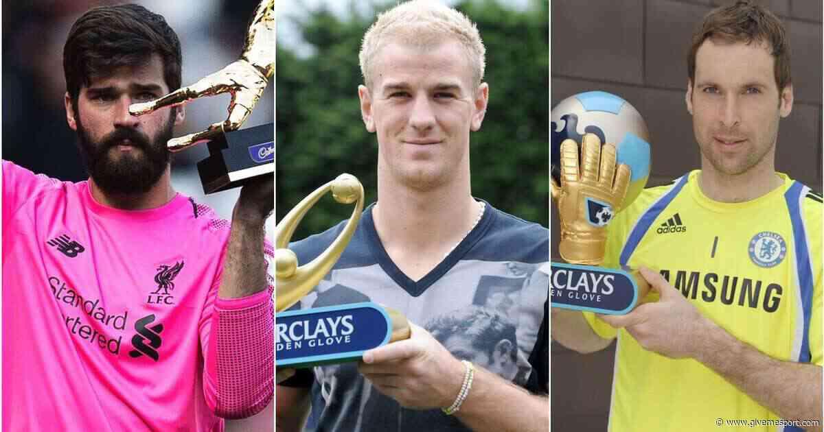 Premier League Golden Glove award: Ranking every winner from worst to best - GIVEMESPORT