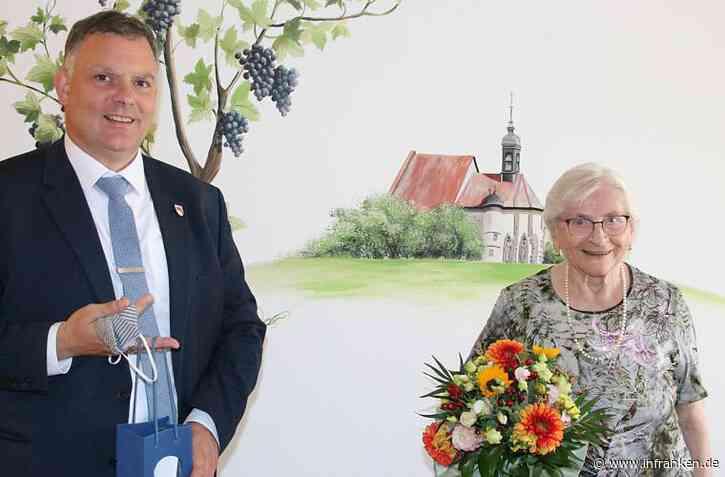 Elvira Sauer aus Volkach feierte 90. Geburtstag