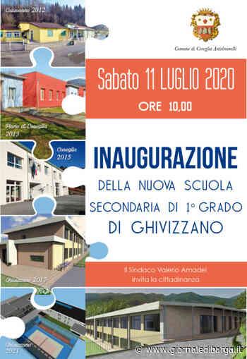 Sabato 11 luglio l'inaugurazione nuova scuola secondaria di primo grado di Ghivizzano - Il Giornale di Barga online