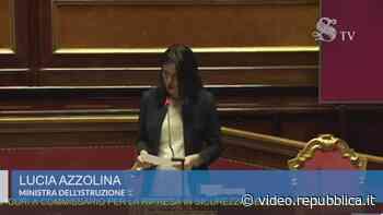 """Scontro in Senato, Lega ad Azzolina: """"Non è in grado di gestire la scuola. Si dimetta"""" - La Repubblica"""