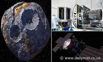 NASA starts building its spacecraft which will explore a metal-rich asteroid