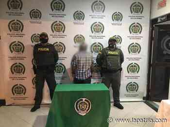 Capturado en Chinchiná (Caldas) le ofreció dinero a menor a cambio de sexo - La Patria.com