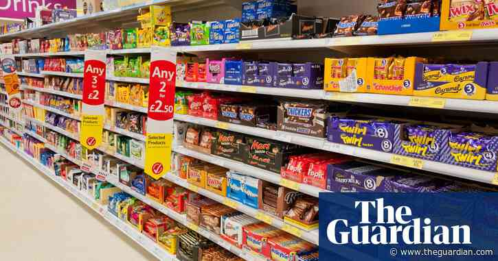 Chocolate and sweet sales face further curbs in No 10 obesity drive