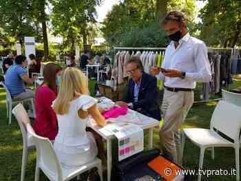 """Il tessile riparte da Montemurlo con """"Ri-filiamo"""", la prima fiera filati post Covid VIDEO E FOTO - tvprato.it"""