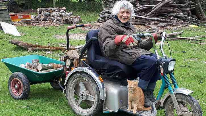 87-year-old Kent woman still farming with off-road scooter