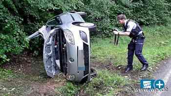 Wilnsdorf: Frau bei Unfall eingeklemmt und schwer verletzt - Westfalenpost
