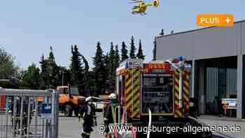 Feuer in Öllagerraum von Autohaus in Langenau