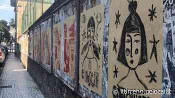 Dipinti e frasi in strada a Carrara ispirati alla rivolta delle donne del 1944 - Il Tirreno