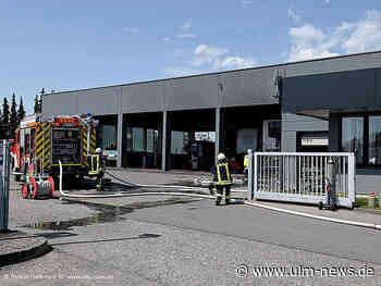 100 000 Euro Schaden nach Brand in Autohaus