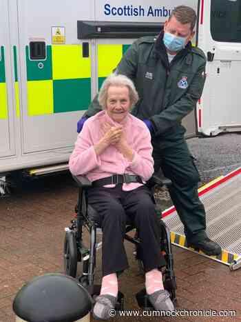 New Cumnock's Annie beats coronavirus after 57 day fight in hospital - Cumnock Chronicle