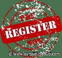 Pre-Registration for the 2020-2021 Season is OPEN! - ayrskatingclub.com