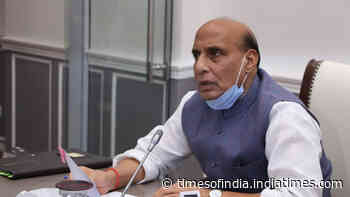 India-China Faceoff: Defence minister Rajnath Singh reviews situation along LAC
