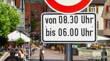 Bietigheim-Bissingen kontrolliert in der Fußgängerzone: 19 Radler halten sich nicht ans Verbot - SWP