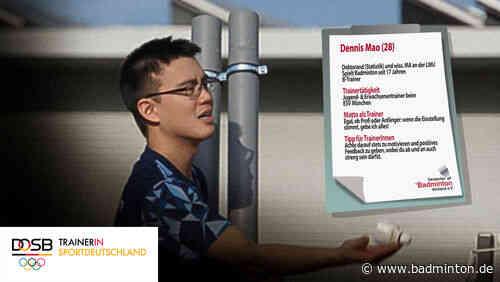 Dennis Mao möchte seine Begeisterung teilen