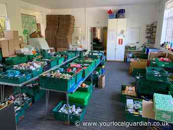 June 'busiest ever month' for Epsom and Ewell foodbank