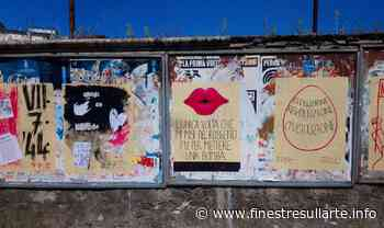 Carrara, un'opera collettiva di street art sulla resistenza partigiana delle donne cittadine - Finestre sull'Arte