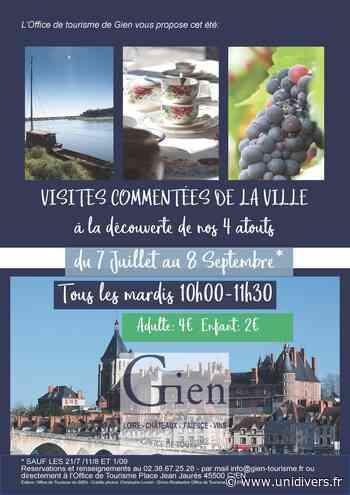 Visites commentées de la ville de Gien GIEN Gien - Unidivers