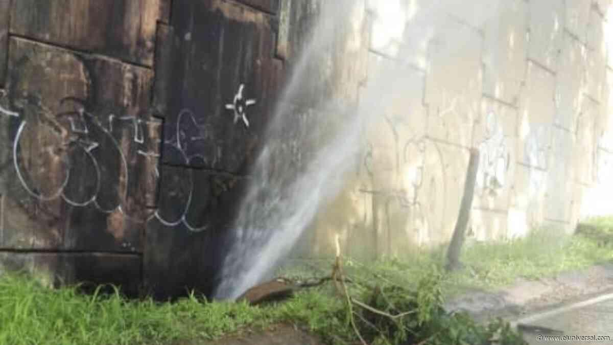 Continúan problemas de agua en Lomas de La Trinidad - El Universal (Venezuela)