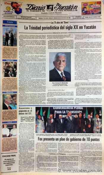 La trinidad periodística - El Diario de Yucatán