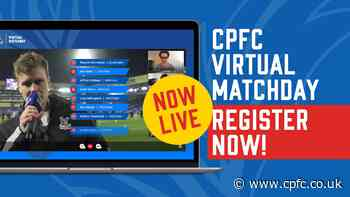 Video call mates for Palace's Villa game with club's Virtual Matchday