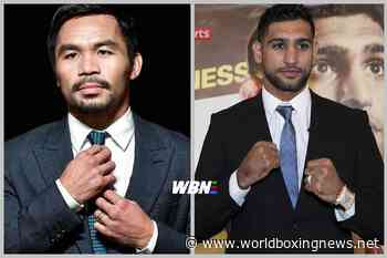 Amir Khan open to Marcos Maidana II after no Manny Pacquiao progress - WBN - World Boxing News