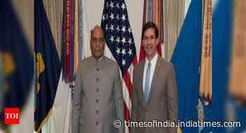 Ladakh row figures in Rajnath's telephonic talks with US defence secretary