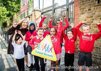 Islington Council rolls out school streets programme to 80 per cent of primary schools - Islington Gazette