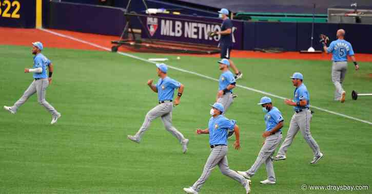 Oh crap, are the 2020 Rays getting too hyped?
