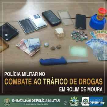 Três pessoas são presas por tráfico de drogas em Rolim de Moura; substâncias entorpecentes foram apreendidas - Planeta Folha