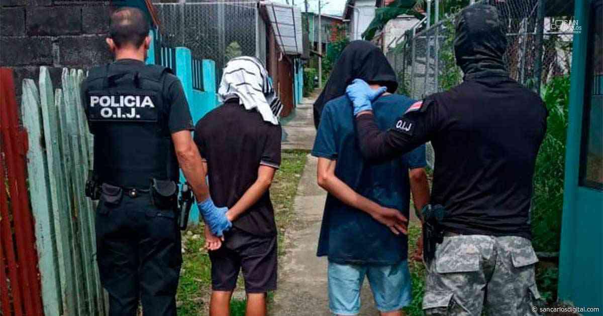 6 detenidos por presunta venta de drogas en Ciudad Quesada - San Carlos Digital