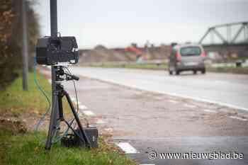 Ruim 80 km/uur te snel op Rijksweg in Dilsen - Het Nieuwsblad