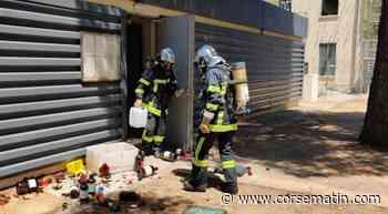 Incident chimique à l'Université de Corte - Corse-Matin
