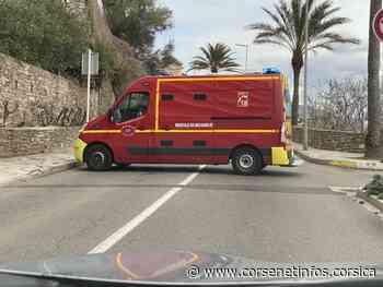 Corte : la réaction chimique de 2 produits mobilise les secours - Corse Net Infos