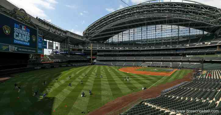 Milwaukee Brewers announce schedule for 2021 MLB season