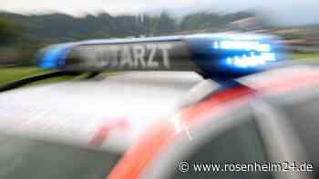 Frontal-Crash zwischenPrien und Riedering