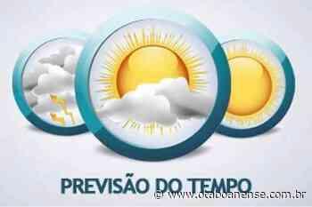 Fim de semana terá manhãs ensolaradas em Taboão da Serra e região; não chove - Portal O Taboanense