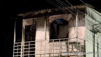 Incêndio atinge casa no bairro Laranjeiras, na Serra - A Gazeta ES