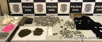 Dois irmãos são presos por tráfico de drogas em bairro da Serra - A Gazeta ES