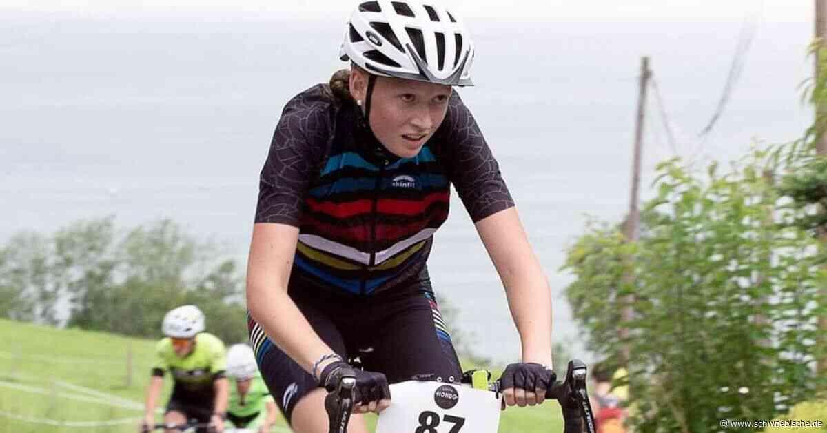 Sophia Wessling: Eine Gipfelstürmerin auf zwei Rädern - Schwäbische